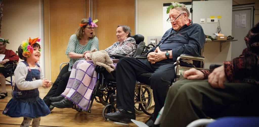 Досуг в санатории для пенсионеров